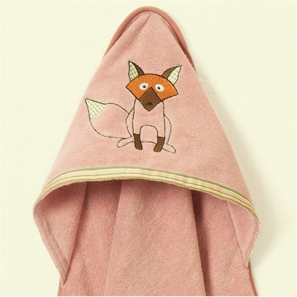 hooded-organic-cotton-baby-towel-fox-design-breganwood