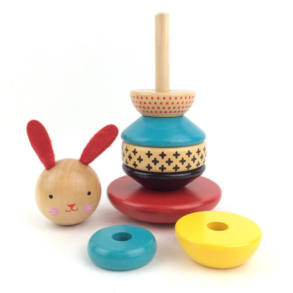 wooden-stacking-toy-rabbit-petit-collage-disassembled