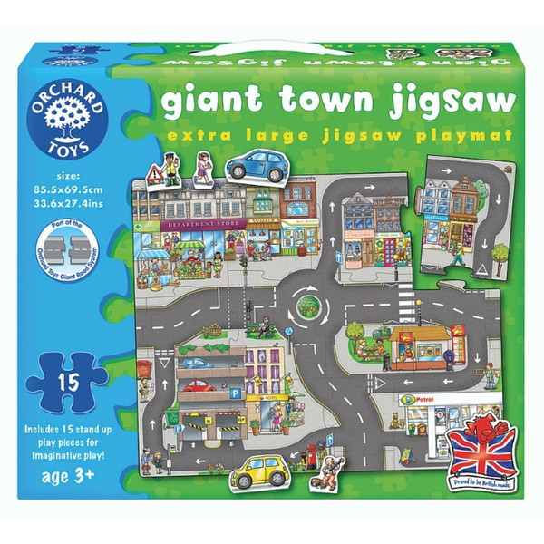 Giant Town Jigsaw by Orchard Toys