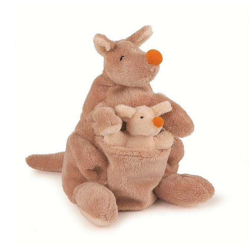 Hand Puppet –Kangaroo and Joey by Egmont Toys