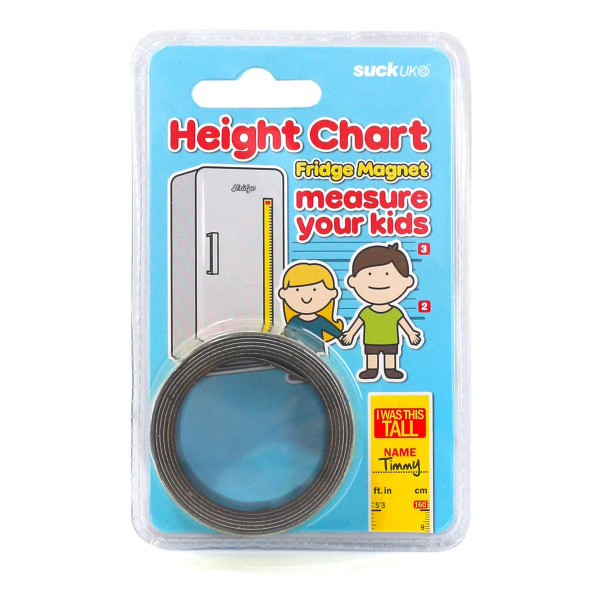 Height Chart 'Fridge Magnet'