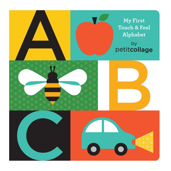 ABC Touch and Feel Alphabet Book by Petit Collage