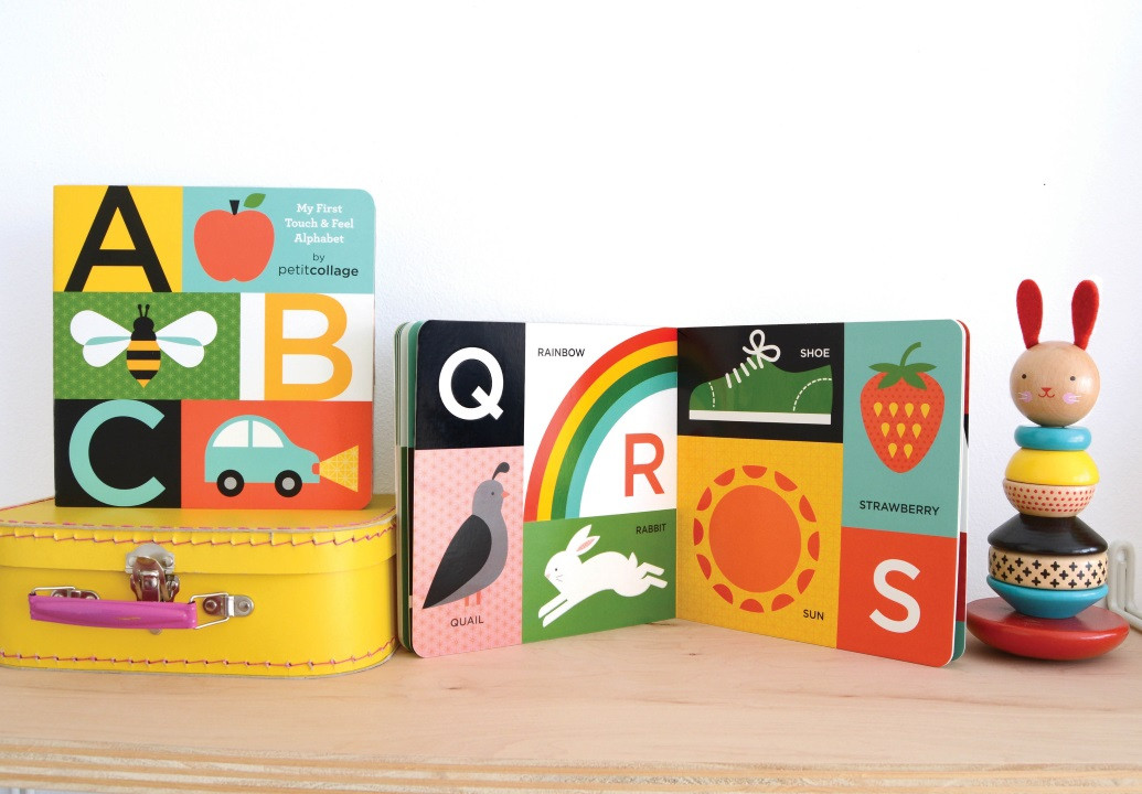 My First ABC Touch and Feel Alphabet Book