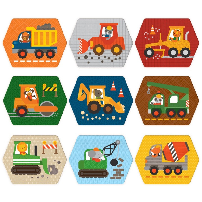 Memory Games by Petit Collage 'Construction - Trucks'