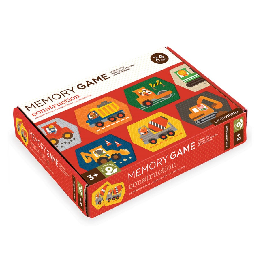 Memory Games by 'Construction -Trucks' (box)