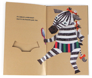 Polar Bear's Underwear Children's Book (Zebra)