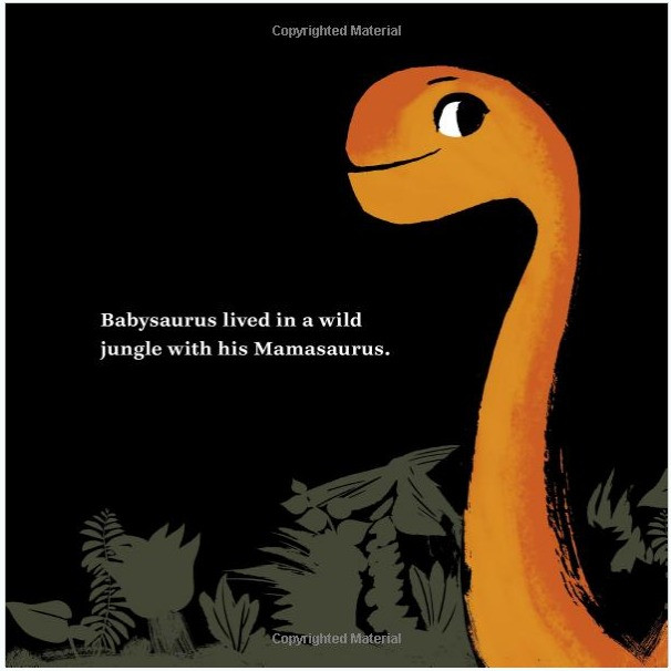 Mamasaurus Children's Book (1st Page)