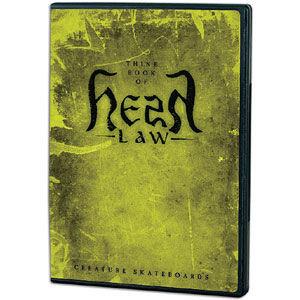 Creature - Hesh Law DVD