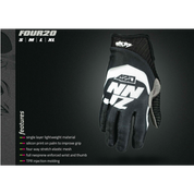 NINJAZ 420 GLOVE BLACK/WHITE