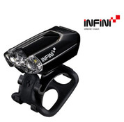 INFINI LAVA SUPER BRIGHT FRONT MICRO USB RECHARGEABLE LIGHT WITH QR BRACKET