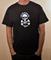 Ride Skull and Trucks T Shirt White Print on Black Shirt