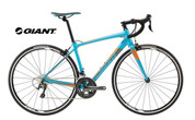 2018 GIANT CONTEND SL2 (BLUE/CHARCOAL/ORANGE)