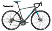 2018 GIANT CONTEND SL2 DISC (CHARCOAL/BLACK/BLUE)