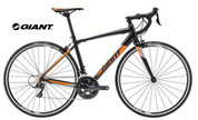 2018 GIANT CONTEND 1 (SATIN/BLACK/ORANGE/SILVER)