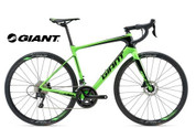 2018 GIANT DEFY ADVANCED 2 (NEON GREEN/BLACK)