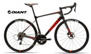 2018 GIANT DEFY ADVANCED PRO 2 (CARBON SMOKE/NEON RED/CHARCOAL)