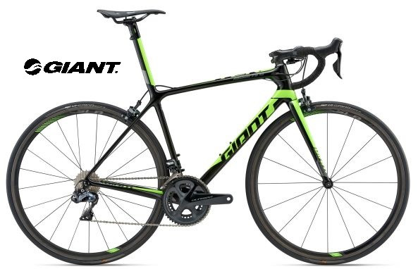 54a6125d7a2 2018 GIANT TCR ADVANCED SL1 (CARBON SMOKE/NEON GREEN) - Ride Shop ...