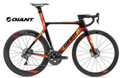 2018 GIANT PROPEL SL 1 DISC (CARBON SMOKE/RED/ORANGE)