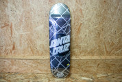 "SANTA CRUISE BARBED WIRE DOT DECK 8.5"" BLACK/SILVER"