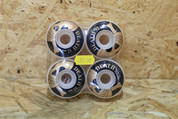 DEATH SKULL BLACK GOLD WHEELS 52MM