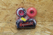 SPITFIRE 52MM RED/BLACK WHEELS