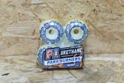 SPITFIRE F1 PARK BURNER WHITE/BLUE 54MM WHEELS