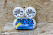 BONES RATZ WHITE/BLUE 54MM WHEELS