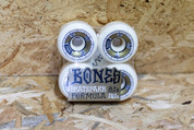 BONES DEATH BOX SKATEPARK FORMULA GOLD/WHITE 58MM WHEELS