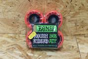 BONES ROUGH RIDERS SHOTGUN 56MM WHEELS RED