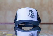 RIDE SHOP BMX SKULL & CRANKS TRUCKER HAT BLACK