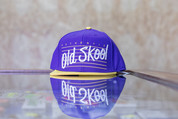 VANS OLDSKOOL SNAPBACK HAT PURPLE/YELLOW