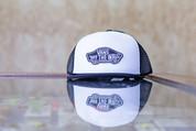 VANS CLASSIC TRUCKER HAT BLACK/WHITE