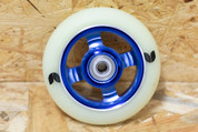 BLAZER 4 SPOKE STORMER WHEEL 100MM BLUE