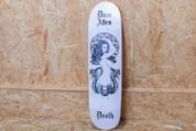 DEATH DAVE ALLEN 'WHITE MEDUSA' 8.5 DECK