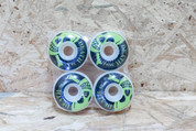 DEATH SKULL GREEN WHEELS 56MM