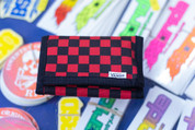 VANS SLIPPED WALLET RED BLACK