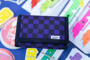 VANS SLIPPED WALLET PURPLE BLACK