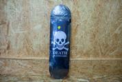 """DEATH OG SKULL DECK 8.75"""" BLACK"""
