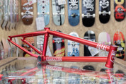 """TOTAL HANGOVER H4 20.6"""" BMX FRAME DIRTY RED"""