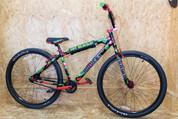 """SE DBLOCKS BIG RIPPER 29"""" BMX BIKE 2021 GREEN CAMO"""