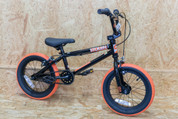 2021 STOLEN AGENT 14 COMPLETE BMX BLACK/ORANGE