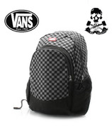 VANS VAN DOREN BACK PACK BLACK/CHARCOAL