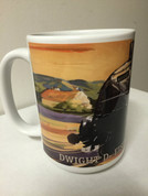 Dwight D. Eisenhower Locomotive mug