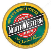 Chicago and North Western System Plaque