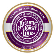 Atlantic Coast Line Wooden Plaque