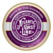 Atlantic Coast Line Wooden Plaque