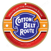 Cotton Belt Route Wooden Plaque