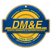 DM&E Wooden Plaque