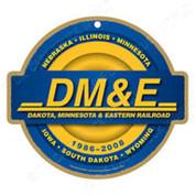 Dakota, Minnesota & Eastern Railroad (DM&E) Wooden Plaque