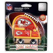 NFL Kansas City Chiefs Wooden Train Engine